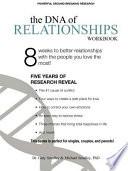 DNA of Relationships Workbook