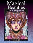Magical Beauties Coloring Book