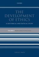 The Development of Ethics  Volume 2