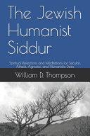 The Jewish Humanist Siddur