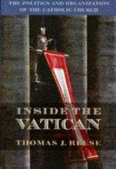 Inside the Vatican Book