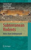 Subterranean Rodents [Pdf/ePub] eBook
