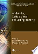 Molecular Cellular And Tissue Engineering Book PDF