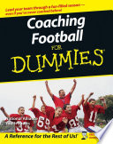 """Coaching Football For Dummies"" by The National Alliance of Youth Sports, Greg Bach"