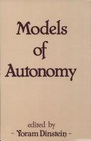 Models of Autonomy Pdf/ePub eBook