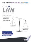 My Revision Notes: OCR AS Law