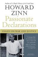 Passionate Declarations Book