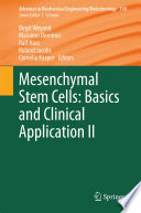 Mesenchymal Stem Cells   Basics and Clinical Application II Book