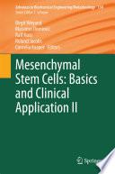 Mesenchymal Stem Cells   Basics and Clinical Application II