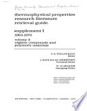 Thermophysical Properties Research Literature Retrieval Guide