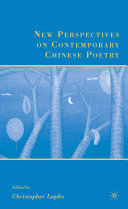 Pdf New Perspectives on Contemporary Chinese Poetry