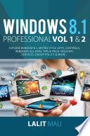 Windows 8 1 professional Volume 1 and Volume 2