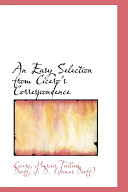 Read Online An Easy Selection from Cicero's Correspondence For Free