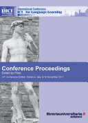 Conference proceedings  ICT for language learning  10th Edition