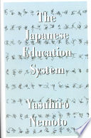 The Japanese Education System Book