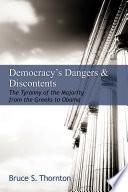 Democracy s Dangers   Discontents