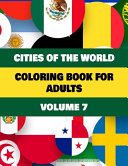 Cities of The World Coloring Book For Adults Volume 7