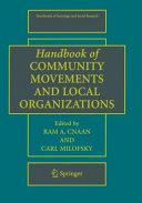 Pdf Handbook of Community Movements and Local Organizations