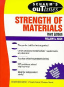 Schaum s Outline of Theory and Problems of Strength of Materials