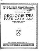 Géologie de la Méditerranée Occidentale