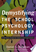 Demystifying The School Psychology Internship