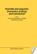 Bruchids and Legumes  Economics  Ecology and Coevolution