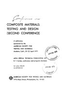 Composite Materials: Testing and Design