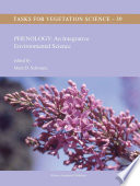 Phenology  An Integrative Environmental Science