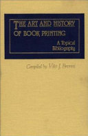 The Art And History Of Book Printing