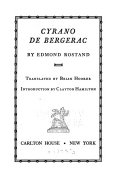 Cyrano de Bergerac