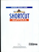 Easy Home Cooking Shortcut Suppers