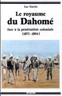 Pdf Le royaume du Dahomé face à la pénétration coloniale Telecharger