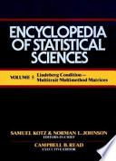 Encyclopedia of Statistical Sciences, Lindberg Conditions to Multitrait-Multimethod Matrices
