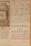 Edwards the Exegete [Pdf/ePub] eBook