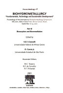 Biohydrometallurgy  Biosorption and bioremediation