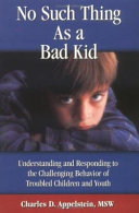 No Such Thing as a Bad Kid Book PDF