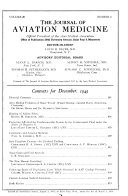 Journal of Aviation Medicine