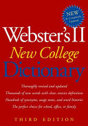 Webster's II New College Dictionary ebook
