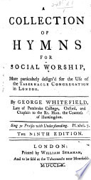 A Collection of Hymns for Social Worship ... The seventh edition