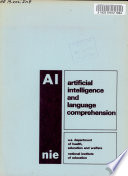 Artificial Intelligence and Language Comprehension