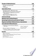 PS, Political Science & Politics