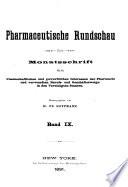 Pharmaceutische Rundschau Book