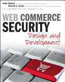 Web Commerce Security  : Design and Development