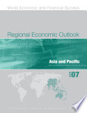 Regional Economic Outlook  April 2007  Asia and Pacific Book