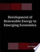 Development of Renewable Energy in Emerging Economies