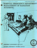 Hospital Emergency Department Management Of Radiation Accidents Book PDF