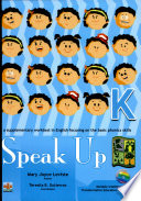 Speak Up K 2007 Ed  Book