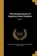 Reminiscences Of Augustus St G
