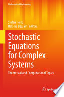 Stochastic Equations for Complex Systems Book
