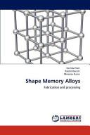 Shape Memory Alloys Book